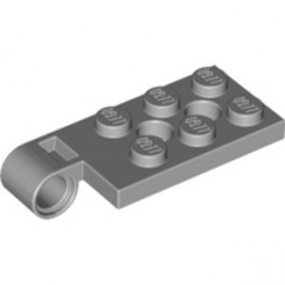 LEGO 4646513 HINGE PL / TOP 2X4 .ø4.85 HOLE - MEDIUM STONE GREY