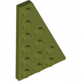 LEGO 6272104 PLATE 4X6 - OLIVE GREEN