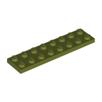 LEGO 6273296 PLATE 2X8 - OLIVE GREEN lego-6273296-plate-2x8-olive-green ici :