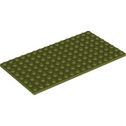 LEGO 6272108 PLATE 8X16 - OLIVE GREEN
