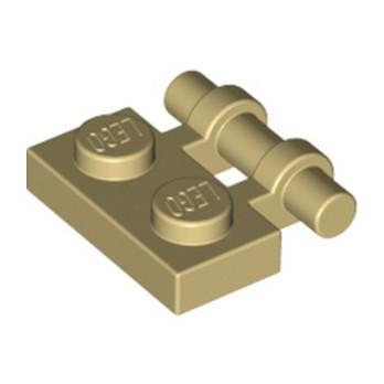 LEGO 4140593 PLATE 1X2 W. STICK - BEIGE