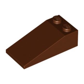 LEGO 4225869 TUILE 2X4X1, 18° - REDDISH BROWN lego-4225869-tuile-2x4x1-18-reddish-brown ici :
