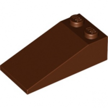 LEGO 4225869 TUILE 2X4X1, 18° - REDDISH BROWN