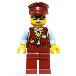 Mini Figurine LEGO® Hidden Side - Chuck