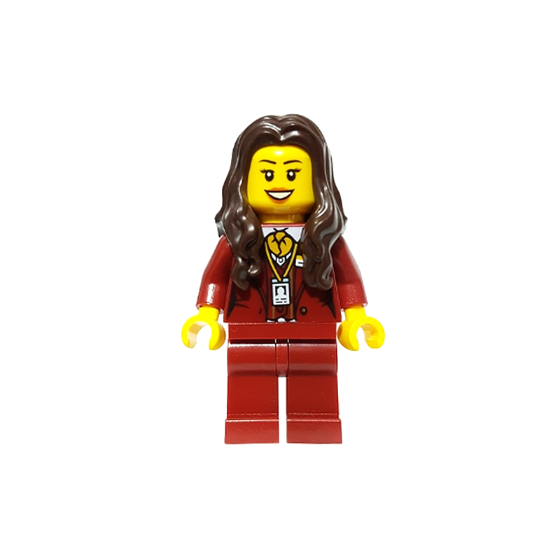 Mini Figurine LEGO® Hidden Side - Ms. Santos