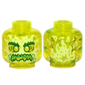 LEGO 6273602 TÊTE FANTOME - JAUNE FLUO TRANSPARENT lego-6273602-tete-fantome-jaune-fluo-transparent ici :
