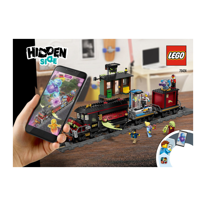 Notice / Instruction Lego Hidden Side 70424