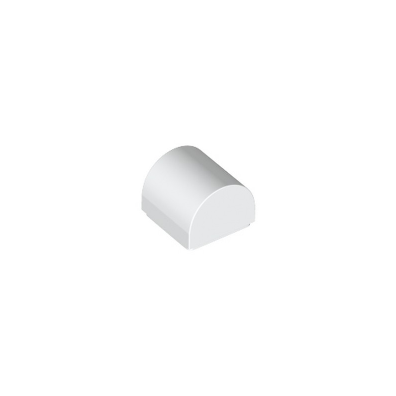 LEGO 6258135 DOME 1X1X2/3 - BLANC