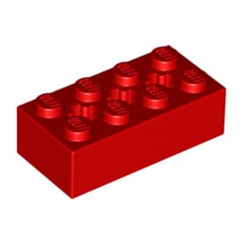 LEGO 6244918 BRIQUE 2X4 W/ CROSS HOLE - ROUGE lego-6244918-brique-2x4-w-cross-hole-rouge ici :