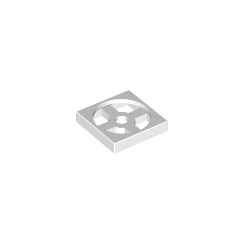 LEGO 368001 TURN TABLE 2X2 - BLANC