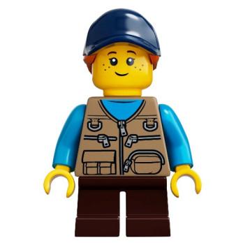 Mini Figurine LEGO® Ideas - Enfant/ Fille