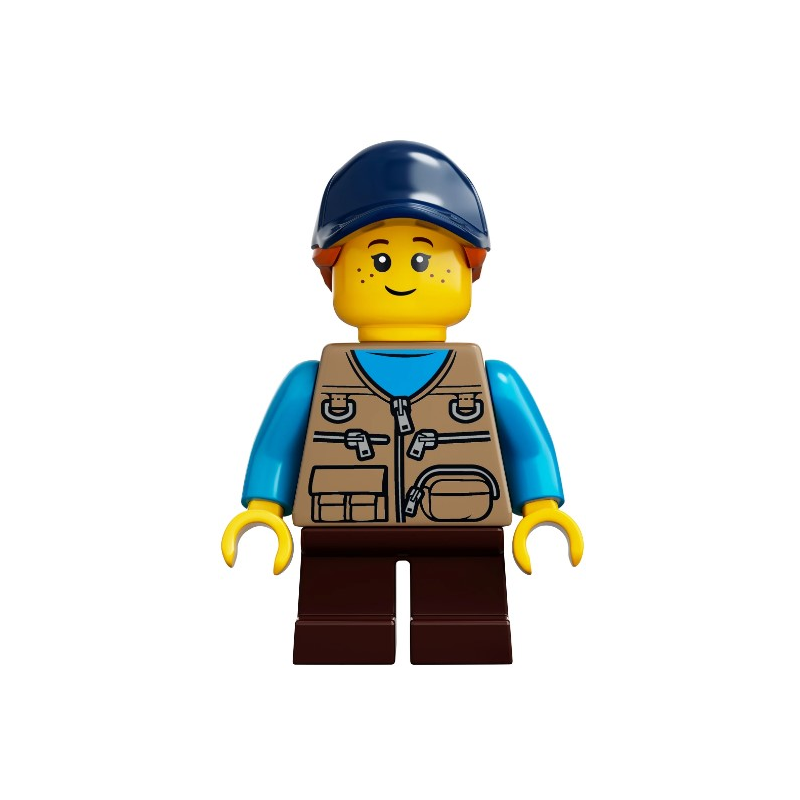 Mini Figurine LEGO® Ideas - Enfant/ Fille
