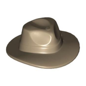 LEGO 4578851 CHAPEAU - SAND YELLOW lego-6252771-chapeau-sand-yellow ici :