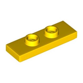 LEGO 6228602 PLATE 1X3 W/ 2 KNOBS - JAUNE
