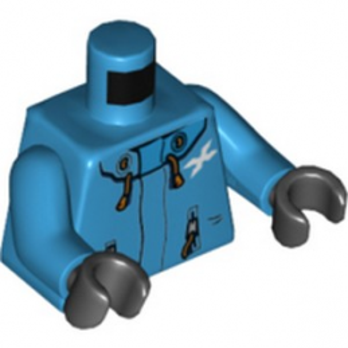 LEGO 6250580 TORSE VESTE DARK AZUR