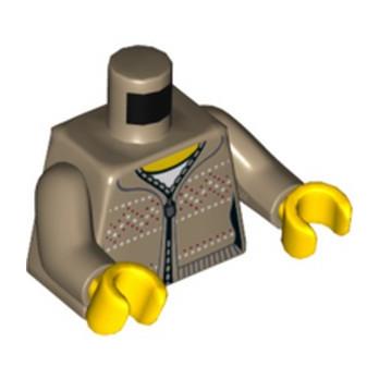 LEGO 6232338 TORSE FEMME GILET SAND YELLOW