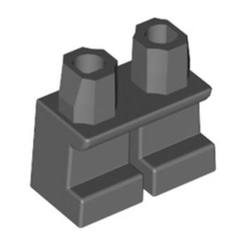 LEGO 6233908 PETITE JAMBE - DARK STONE GREY