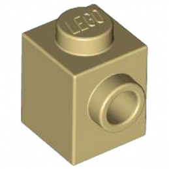 LEGO 4579260 BRIQUE 1X1 W. 1 KNOB - BEIGE lego-4579260-brique-1x1-w-1-knob-beige ici :