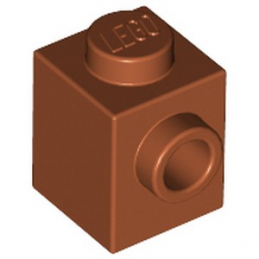 LEGO 4666322  BRIQUE 1X1 W. 1 KNOB - DARK ORANGE