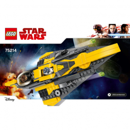 Notice / Instruction Lego Star Wars  75214