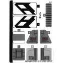 Stickers / Autocollant Lego Star wars 75242