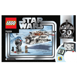 Notice / Instruction Lego Star Wars  75259 notice-instruction-lego-star-wars-75259 ici :