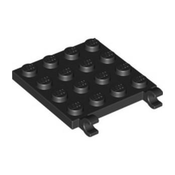 LEGO 6174508 PLATE 4X4 W/VERTICAL HOLDER - NOIR lego-6174508-plate-4x4-wvertical-holder-noir ici :