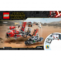 Notice / Instruction Lego Star Wars  75250 notice-instruction-lego-star-wars-75250 ici :