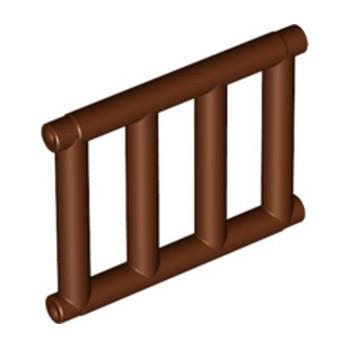 LEGO 6271128 GRILLE / ECHELLE 1X4X3 - REDDISH BROWN lego-6271128-grille-echelle-1x4x3-reddish-brown ici :