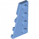 LEGO 6172410 PLATE 2X4 ANGLE GAUCHE - MEDIUM BLUE