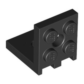 LEGO 6254808 PLATE 2X2 ANGLE - NOIR