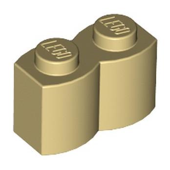 LEGO 4218749 PALISADE BRICK 1X2 - TAN