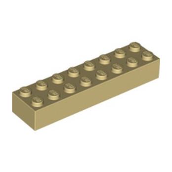 LEGO 6037398 BRICK 2X8 - TAN