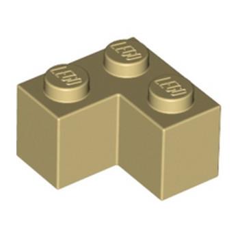LEGO 4124455 BRIQUE D'ANGLE 1X2X2 - BEIGE
