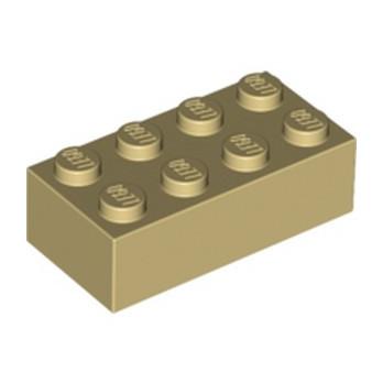 LEGO 4114319 BRICK 2X4 - TAN