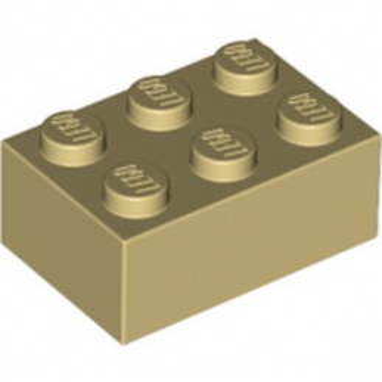 LEGO 4159739 BRICK 2X3 - TAN