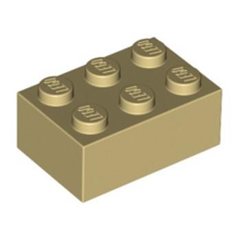 LEGO 4159739 BRIQUE 2X3 - BEIGE