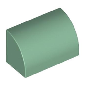 LEGO 6278541 1/2 DOME 1X2 - SAND GREEN lego-6278541-12-dome-1x2-sand-green ici :