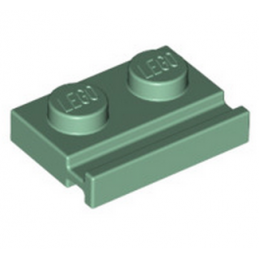 LEGO 6222362 PLATE 1X2 - SAND GREEN