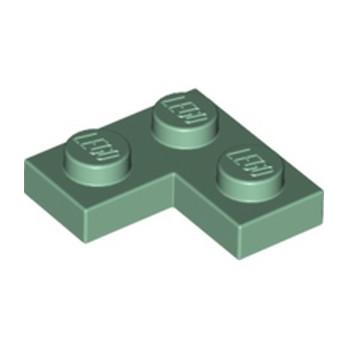 LEGO 6282619 PLATE ANGLE 1X2X2 - SAND GREEN