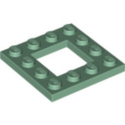 LEGO 6249804 PLATE 4X4 - SAND GREEN