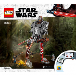 Notice / Instruction Lego Star Wars  75254 notice-instruction-lego-star-wars-75254 ici :
