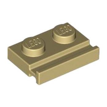 LEGO 4160483 PLATE 1X2 - BEIGE lego-4160483-plate-1x2-beige ici :