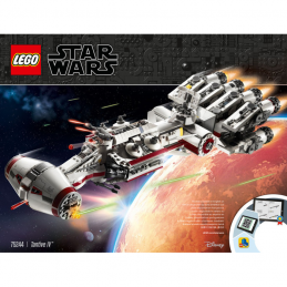 Notice / Instruction Lego Star Wars  75244 notice-instruction-lego-star-wars-75244 ici :