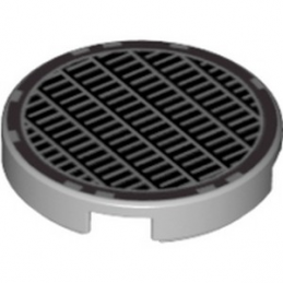 LEGO 6052204 ROND 2X2 - IMPRIME GRILLE