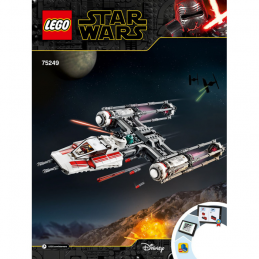 Notice / Instruction Lego Star Wars  75249 notice-instruction-lego-star-wars-75249 ici :