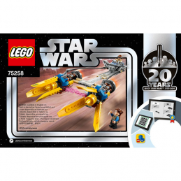 Notice / Instruction Lego Star Wars  75258