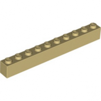 LEGO 4166138 BRICK 1X10 - TAN