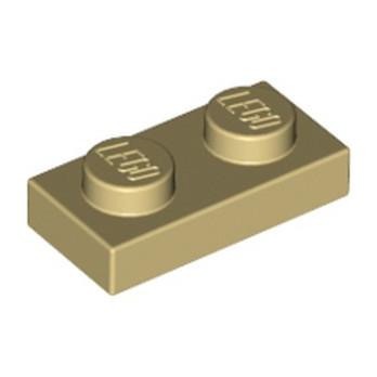 LEGO 302305 PLATE 1X2 - BEIGE