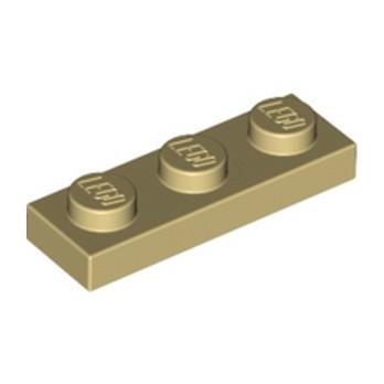 LEGO 4121921 PLATE 1X3 - TAN